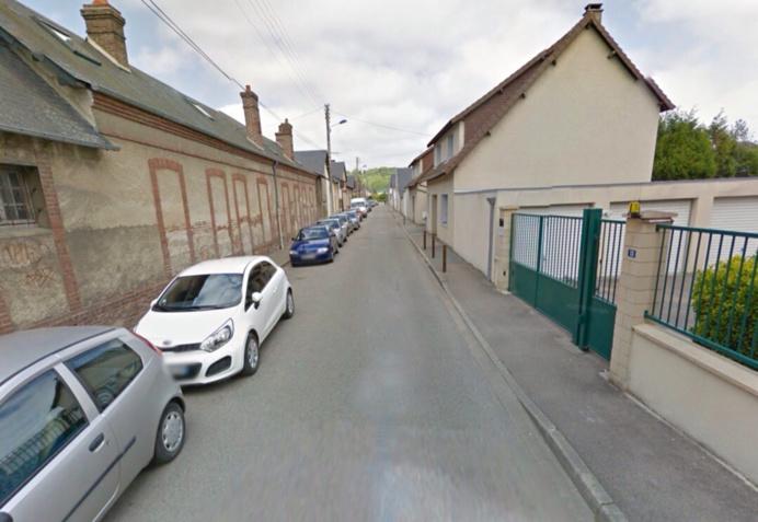 L'agression s'est déroulée rue Sourbelle, une rue peu fréquentée (illustration @ Google Maps)