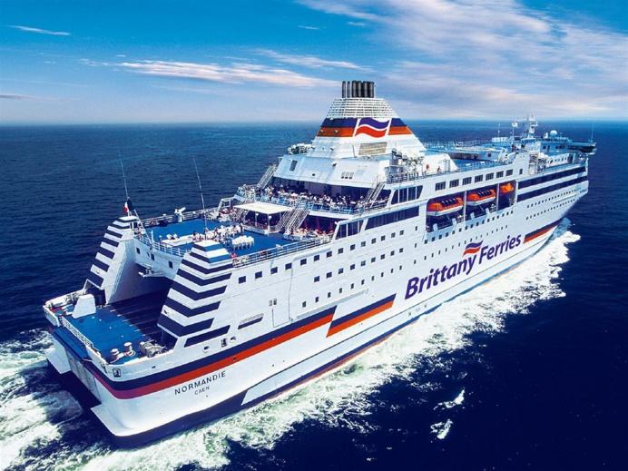 Le ferry Normandie était a environ 37 km au nord du Havre (Illustration)