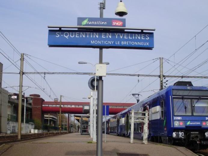 La rixe a éclaté sur un quai de la gare (illustration @ D.R.)