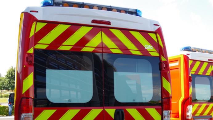 La victime a été transportée dans un état grave vers l'hôpital de Montivilliers (Illustration)