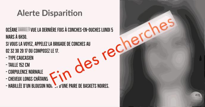 La gendarmerie de l'Eure avait publié un avis de disparition sur sa page Facebook