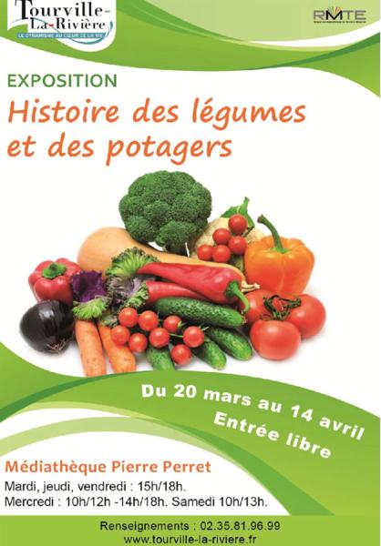 «Histoire des légumes et des potagers» : une exposition vous en dit plus à Tourville-la-Rivière (Seine-Maritime)