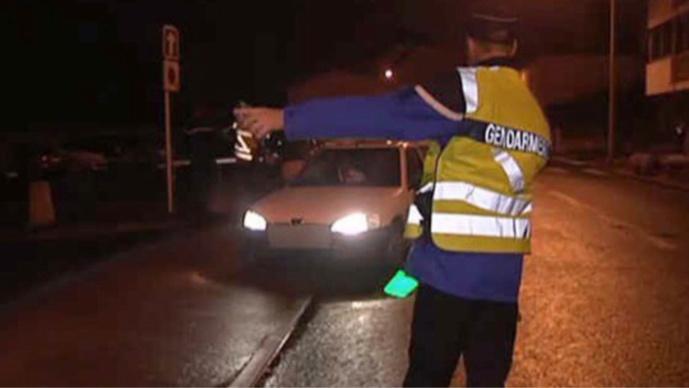 10 conducteurs ont été verbalisés, dont un pour refus de se soumettre au dépistage d'alcoolémie (Illustration)