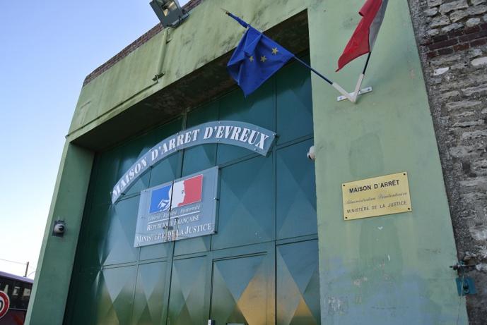 L'un des voleurs identifiés a été interpellé à la maison d'arrêt d'Evreux où il est en détention pour d'autres faits (Illustration © infoNormandie)