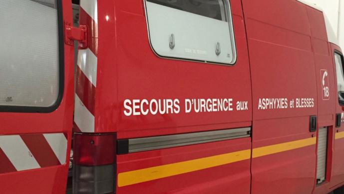 Collision entre une voiture et poids un lourd près d'Yvetot : un homme de 75 ans grièvement blessé
