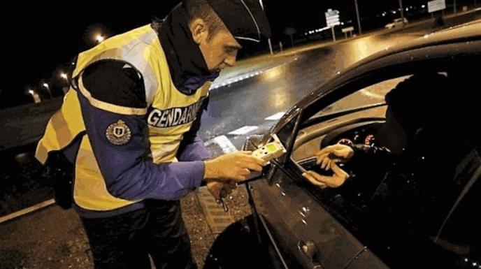 Le dépistage a révélé un taux de 2,32 g dans le sang (Illustration © Gendarmerie/Facebook)