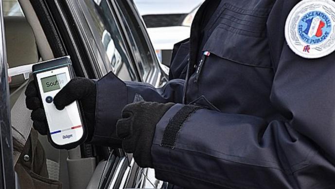 Rouen (Seine-Maritime) :  l'automobiliste en infraction était ivre et conduisait avec un permis annulé