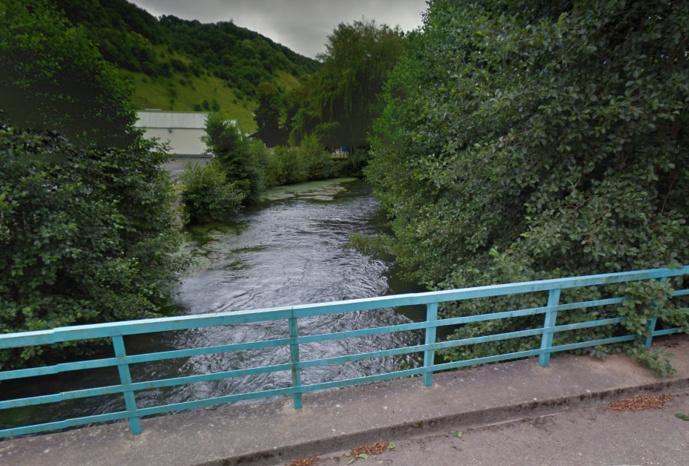 """La rivière l'Andelle a été """"littéralement ratissée"""" a indiqué le substitut du procureur lors d'un point sur les recherches à 17 heures"""