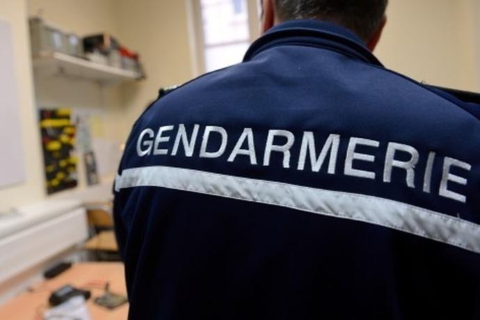 La réactivité des gendarmes de Duclair a permis d'interpeller immédiatement le cambrioleur (Illustration)