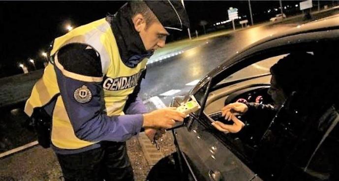 Trois conducteurs sous l'empire d'un état alcoolique ou de stupéfiants ont fait l'objet d'une rétention immédiate de leur permis (Illustration)