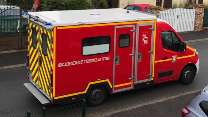 En arrêt cardio-respiratoire, l'octogénaire a été ranimé et transporté par les pompiers à l'hôpital d'Evreux - illustration © infonormandie