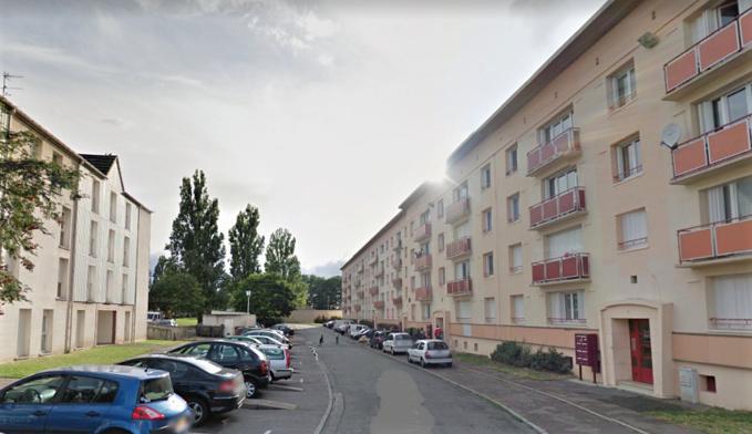 La rue Albert Camus dans le quartier de la Madeleine où se sont déroulés les faits - Illustration © Google Maps
