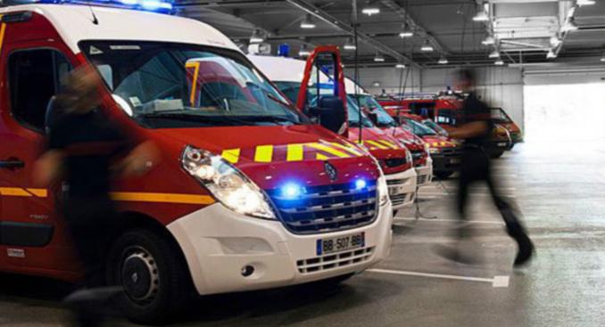 Les sapeurs-pompiers de Seine-Maritime sont intervenus à deux reprises cet après-midi pour éteindre des incendies - Illustration