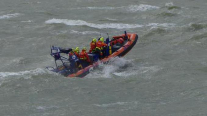 Isolés par la marée, deux promeneurs et leurs chiens secourus par les sauveteurs de Berck-sur-Mer