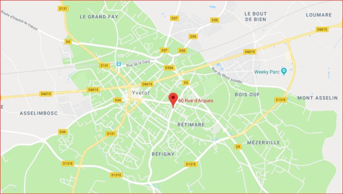 En Seine-Maritime, le balcon du 3ème étage s'effondre et arrache celui du 2ème : trois blessés, dont deux graves