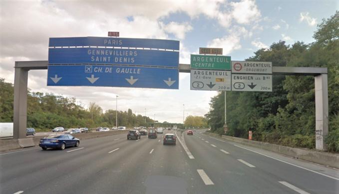 Effondrement d'un mur sur l'A15 à Argenteuil (Val d'Oise) : la circulation partiellement rétablie demain samedi