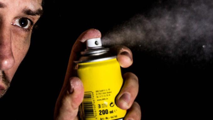 L'agresseur l'a aspergé de gaz lacrymogène - Illustration @ Pixabay