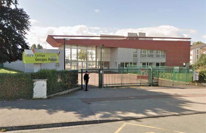 Evreux : un lycéen interpellé pour outrages après un vol avec violences devant le collège Politzer