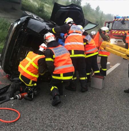 Seine-Maritime : perte de contrôle sur l'A151 entre Rouen et Dieppe, le conducteur est blessé