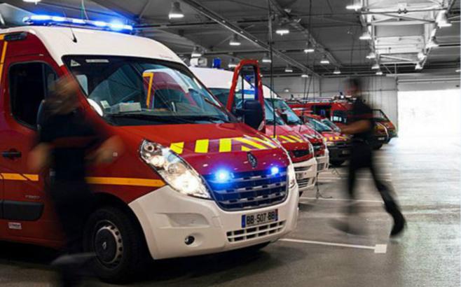 Les sapeurs-pompiers ont dépêché trois véhicules de secours sur le lieu de l'accident - Illustration