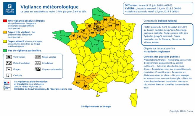 Inondations : l'A13 fermée dans les deux sens entre Poissy et Les Mureaux, ce matin