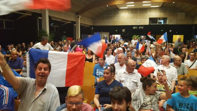 En 2016, la ville avait déjà retransmis les matchs de la coupe d'Europe à l'espace Bourvil - Illustration @ Ville de Caudebec-lès-Elbeuf
