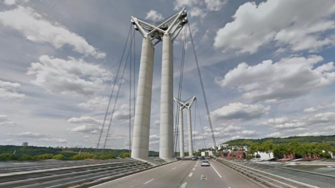 Travaux sur le pont Gustave Flaubert à Rouen mardi 19 juin : ce qu'il faut savoir