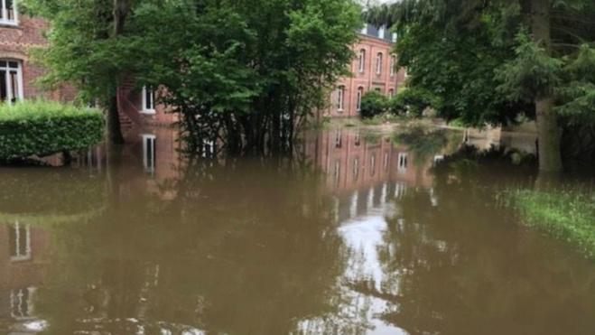 L'école et le collège Jeanne-d'Arc à Bernay sont fermés jusqu'à lundi - Photo © Préfecture 27/Twitter