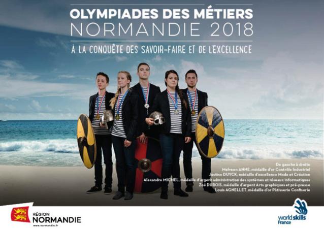 Finale des Olympiades des métiers à Caen : épreuves de préparation pour les 65 lauréats normands