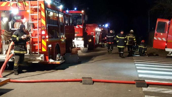 19 sapeurs-pompiers et 7 engins ont été mobilisés sur les lieux du sinistre - Illustration