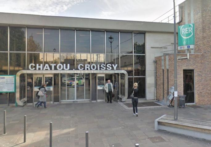 Yvelines : vol avec violences d'un smartphone en gare de Chatou, les auteurs sont interpellés