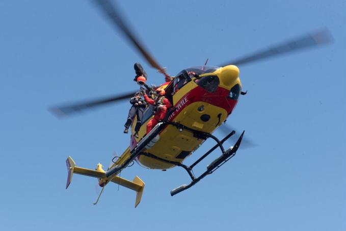 Dragon 50 a été mobilisé pour cette opération de sauvetage - Illustration