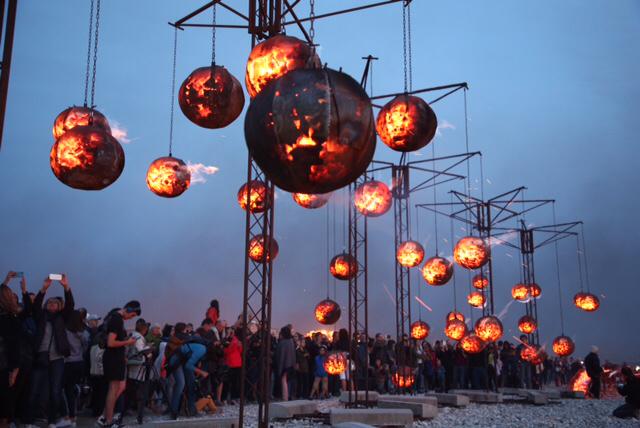 Un Été au Havre : 50 000 spectateurs sur la plage pour la soirée d'ouverture