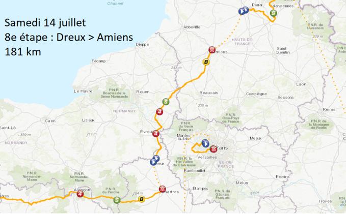 Le Tour de France traverse l'Eure le 14 juillet : ce qu'il faut savoir