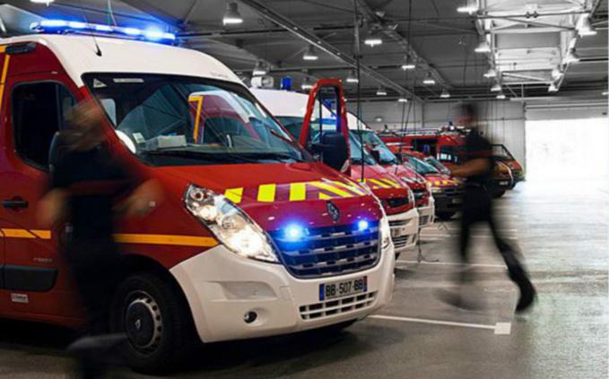 Treize sapeurs-pompiers ont été mobilisés sur l'incendie - illustration