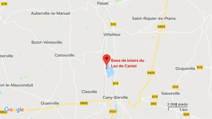 Seine-Maritime : deux enfants échappent à la noyade sur la base de loisirs de Caniel