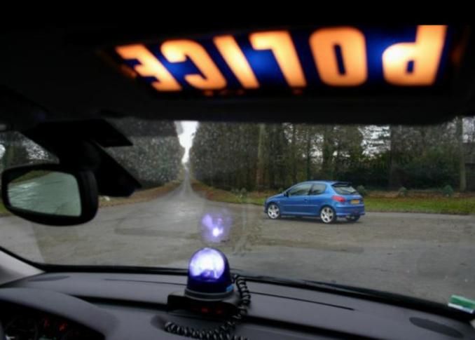 Le véhicule des cambrioleurs a été rapidement repéré par la BAC - Photo d'illustration