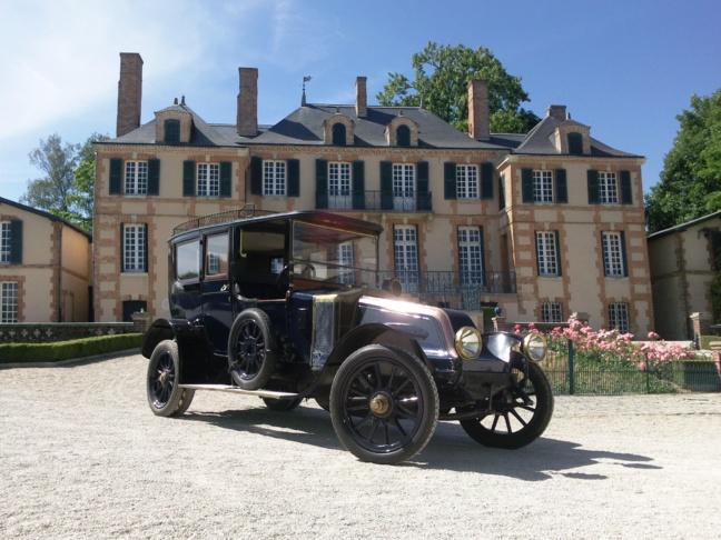 A découvrir : la voiture du Maréchal Joffre de marque Renault datant de 1917