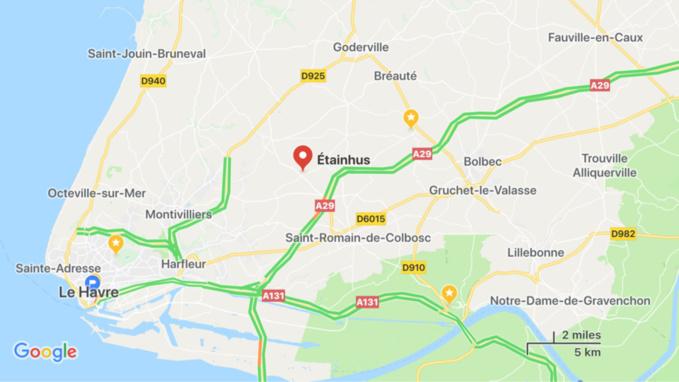 Seine-Maritime : une cycliste  de 75 ans succombe dans une collision avec une voiture