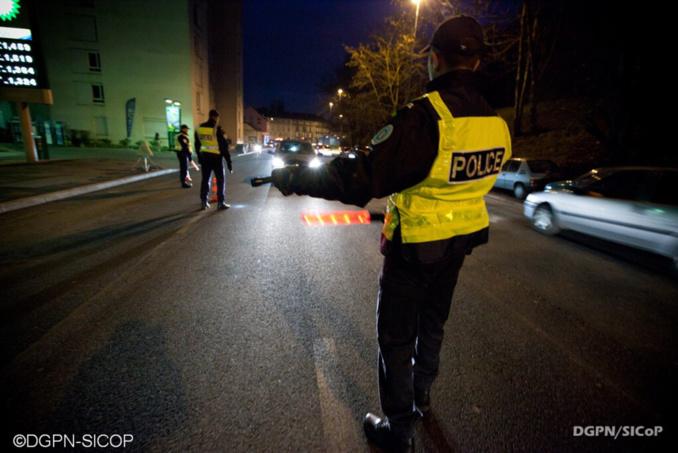 L'automobiliste a été intercepté au milieu de la nuit avenue des Capucins à Vernon - illustration © DGPN