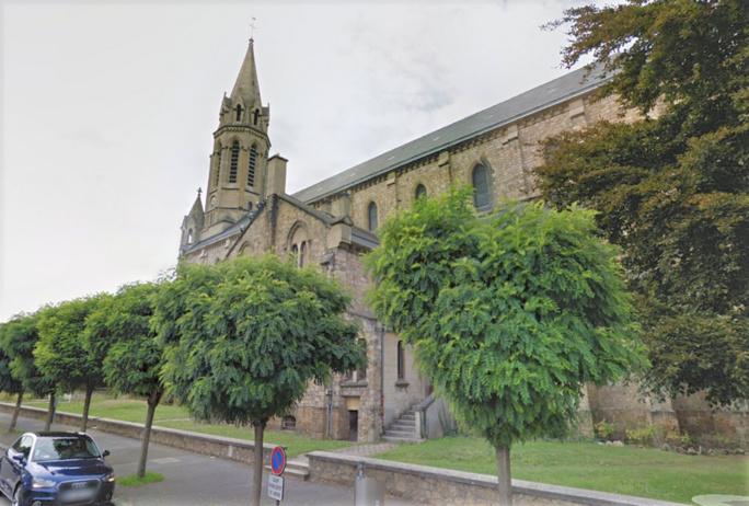 Le curé de la paroisse a mis en fuite les cambrioleurs - illustration © Google Maps