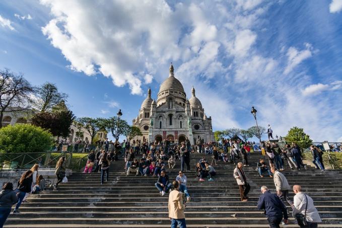 Montmartre et le Sacré coeur à Paris - Illustration © Pixabay