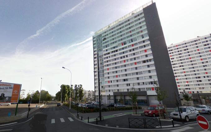 Rue Camélinat au Havre : la jeune femme a chuté du 6ème étage d'un immeuble qui en compte 16  - Illustration © Google Maps