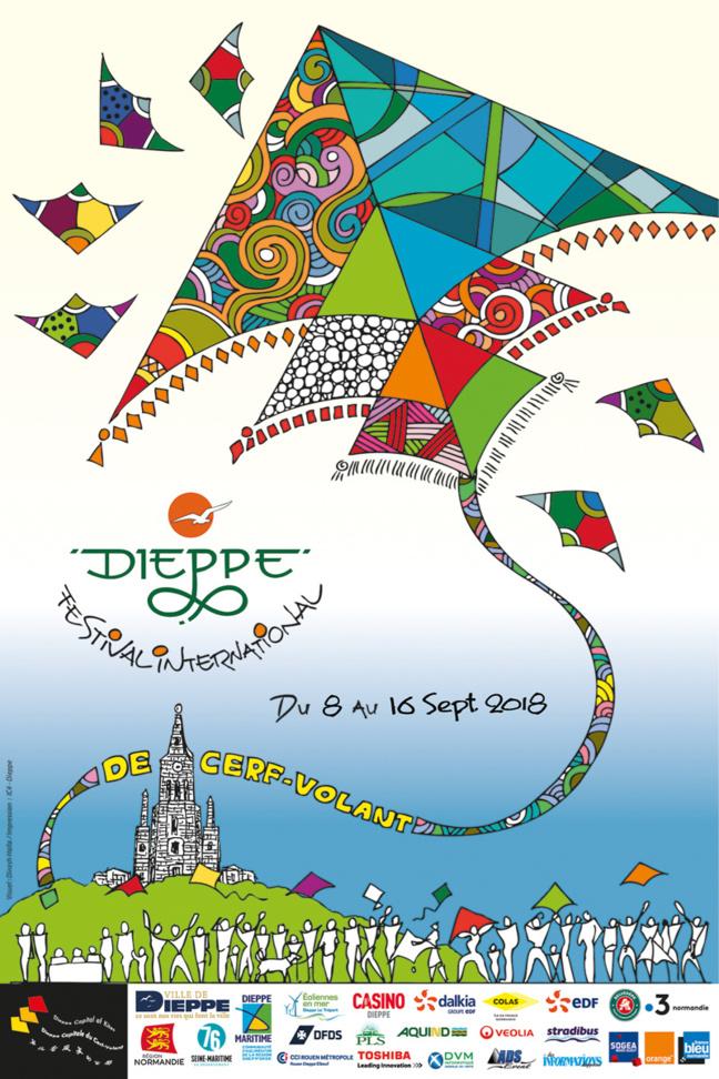 Festival du cerf-volant à Dieppe : le spectacle est dans le ciel pendant une semaine