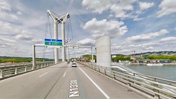 Travaux sur le Pont Flaubert à Rouen : perturbations à prévoir mercredi sur la RN1338