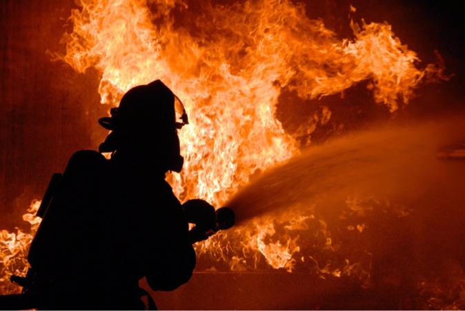 Incendie d'un hangar agricole dans l'Eure : 50 pompiers actuellement mobilisés