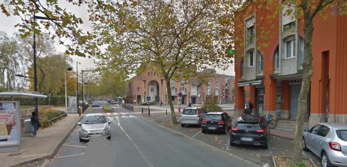 Le jeune homme a été agressé dans la rue de la Mare de Troux - Illustration © Google Maps
