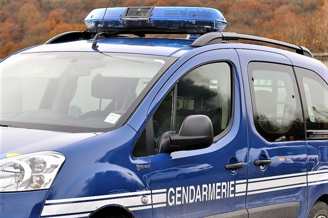Les gendarmes ont rapidement identifié et interpellé le conducteur en fuite - Illustration © infonormandie