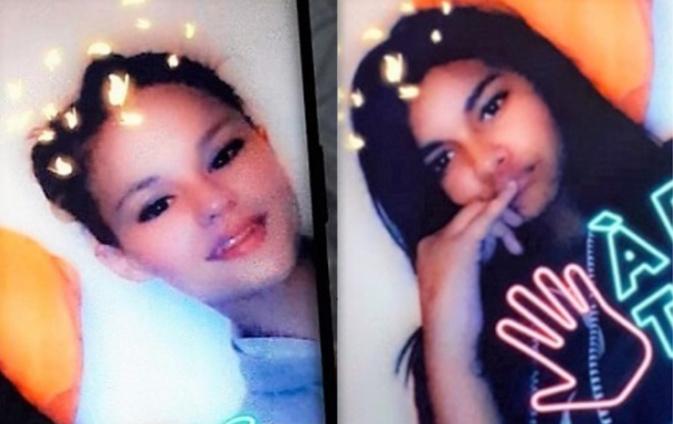 « Les deux Jeunes filles sont susceptibles de se trouver ensemble, et de mettre leur intégrité physique en danger », indique l'avis de recherche diffusé par la police - Photos © Police nationale