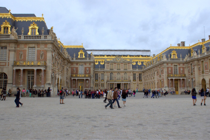 Place d'Arme, château de Versailles @ Pixabay